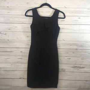 BCBGMAXAZRIA SIRI DRESS BLACK SIZE 0